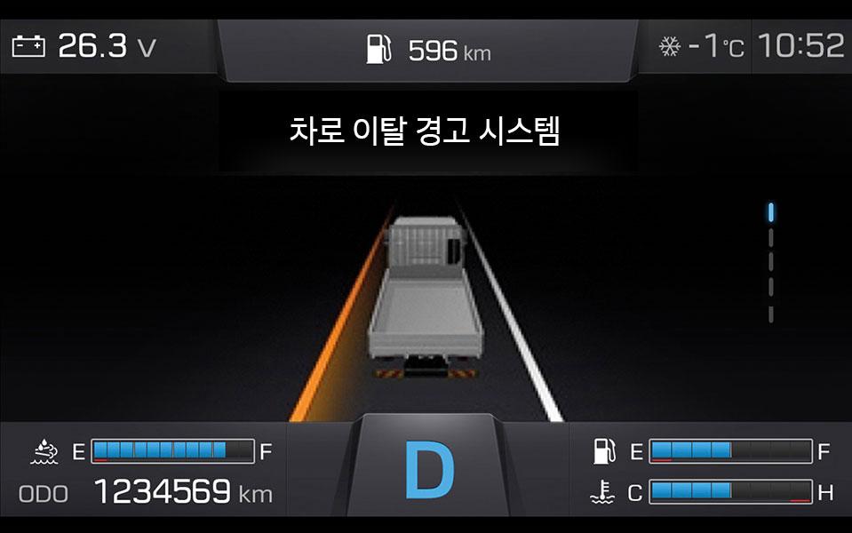차로 이탈 경고 시스템