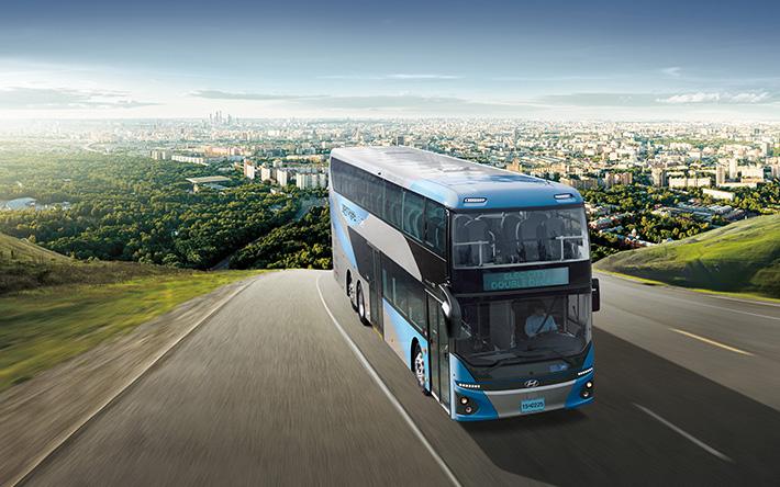 일렉시티 이층버스